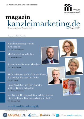 eMagazin kanzleimarketing.de 2/2017