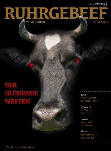 Ruhrgebeef No3 - Leseprobe