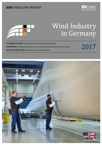 BWE Industry Report - Wind Industry in Germany 2017