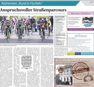 """Radrennen """"Rund in Fischeln"""""""