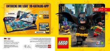 LEGO-Katalog Januar - Juni 2017