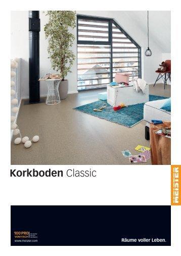MEISTER Katalog Korkboden Classic
