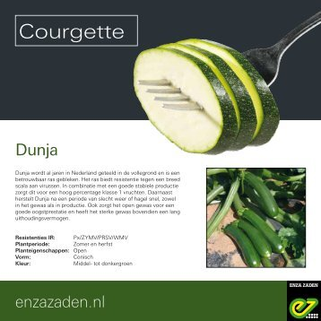 Leaflet Courgette 2017