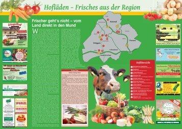 Hofläden - Frisches aus der Region