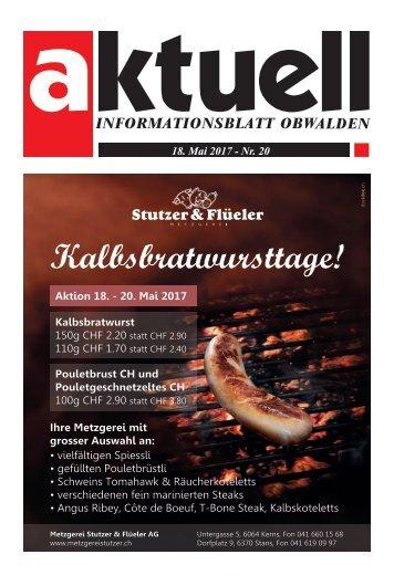 Aktuell Obwalden 20-2017