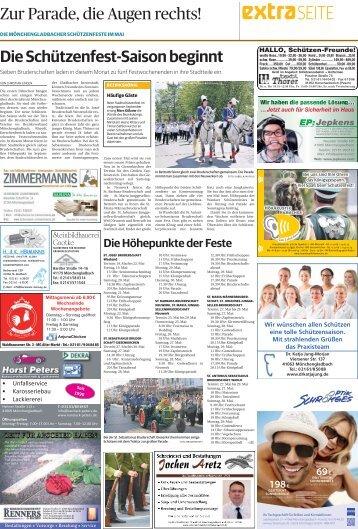 Die Mönchengladbacher Schützenfeste im Mai
