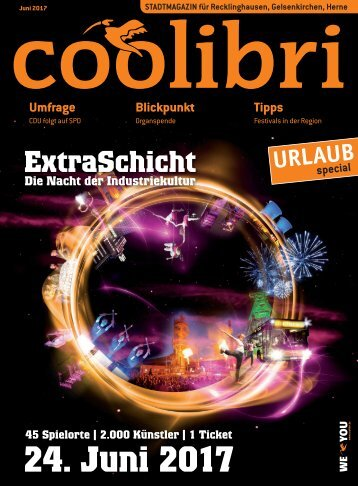 Juni 2017 - coolibri Recklinghausen, Gelsenkirchen, Herne