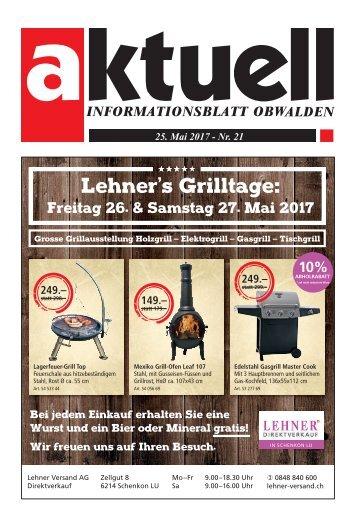 Aktuell Obwalden 21-2017