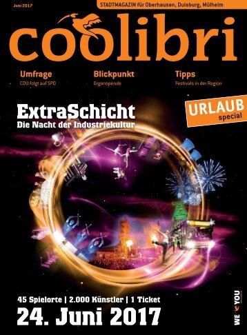 Juni 2017 - coolibri Oberhausen, Duisburg, Mülheim