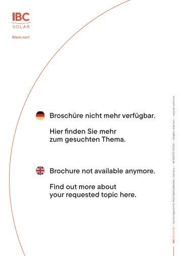 IBC SOLAR Relaunch-Aktion Netzwerk