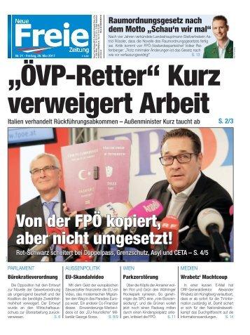 """""""ÖVP-Retter"""" Kurz verweigert Arbeit"""