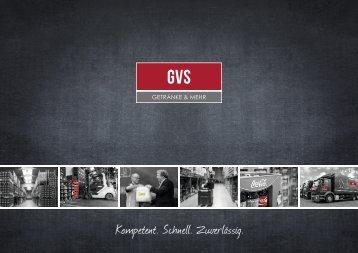 Imagebroschüre GVS Getränkevertrieb Südwestfalen GmbH & Co. KG