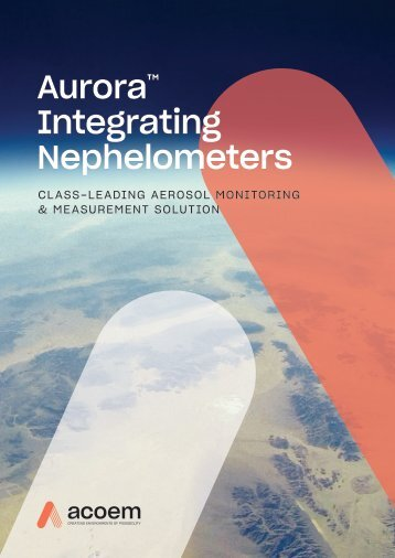 ECOTECH Aurora Integrating Nephelometers