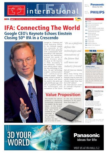 Day 6 - IFA International