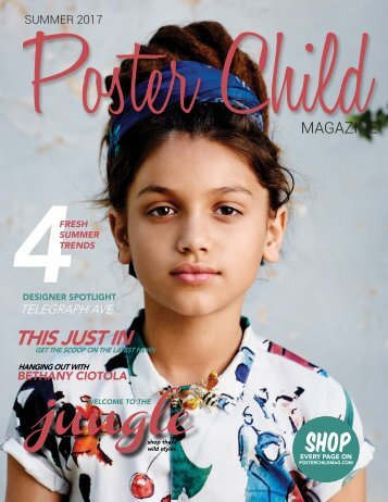 Poster Child Magazine, Summer 2017