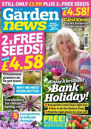Garden News May Digital Sampler