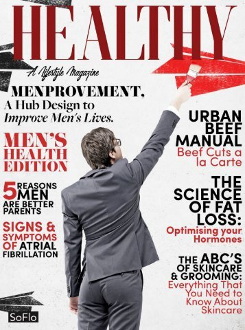 Healthy SoFlo Issue 49 - Menprovement: A Hub Design to Improve Men's Lives