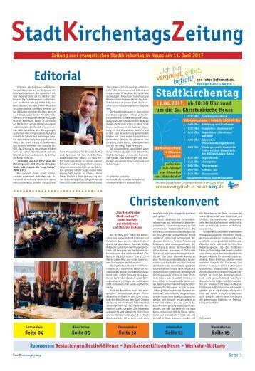 Evangelischer Stadtkirchentag