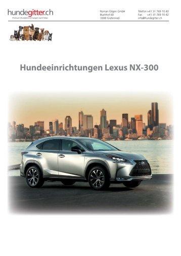 Lexus_NX-300_Hundeeinrichtungen