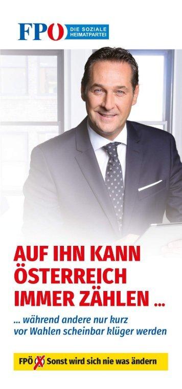 Auf ihn kann Österreich immer zählen ...