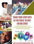 AFRICA WORLD MAGAZINE SUMMER ISSUE 2017  - Page 5