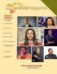 AFRICA WORLD MAGAZINE SUMMER ISSUE 2017  - Page 6