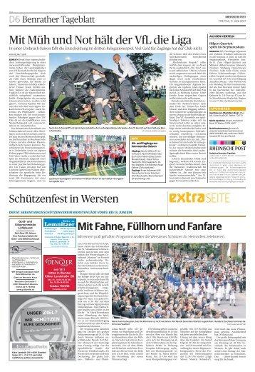 Schützenfest in Wersten