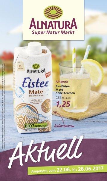 Alnatura Aktuelle Angebote vom 22.06. bis 28.06.2017