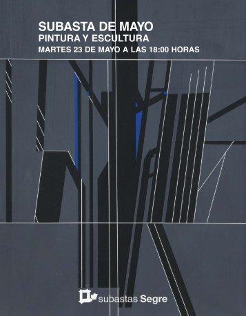 CATALOGO PINTURA SUBASTA MAYO 2017