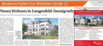 Neubauvorhaben Von-Witzleben-Straße 22