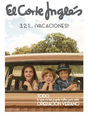 Catálogo El Corte Ingles 3,2,1... VACACIONES 2017