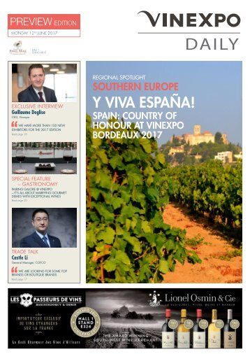 Vinexpo Daily 2017 - Preview Edition