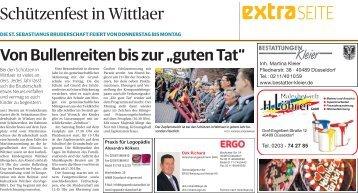Schützenfest in Wittlaer