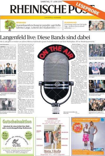 Leseprobe Langenfeld-Monheim