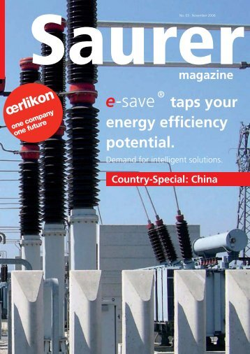 taps your energy efficiency potential. - Oerlikon Textile