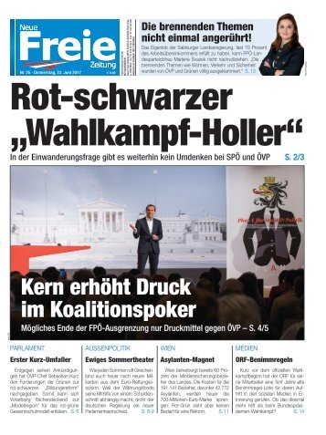 "Rot-schwarzer ""Wahlkampf-Holler"""