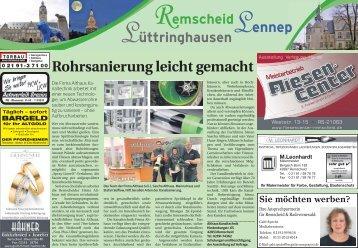 Remscheid - Lennep - Lüttringhausen