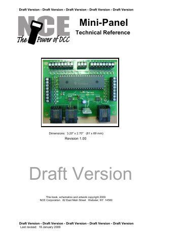 Mini-Panel Technical Reference