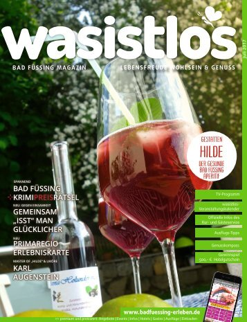 wasistlos bad fuessing magazin Juli 2017