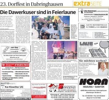 23. Dorffest in Dabringhausen