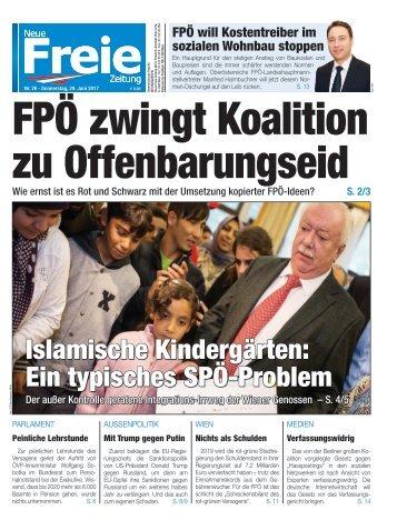 FPÖ zwingt Koalition zu Offenbarungseid