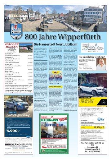 800 Jahre Wipperfürth