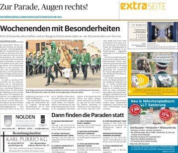 Die Mönchengladbacher Schützenfeste im Juli