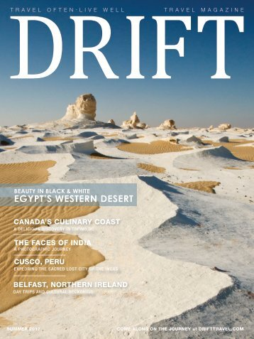 DRIFT Travel Summer 2017