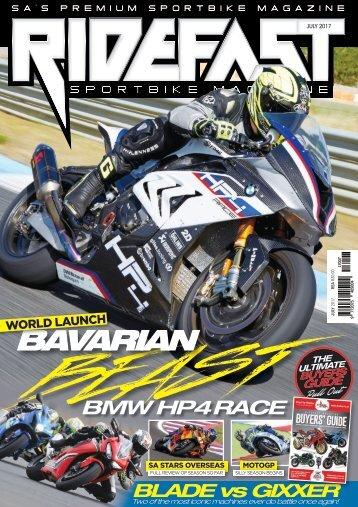RideFast Magazine July 2017 issue