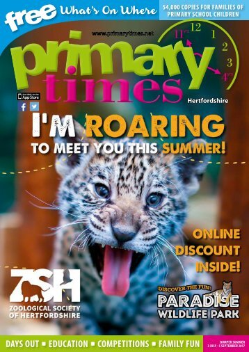 Primary Times Hertfordshire Summer 2017