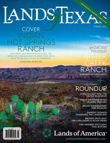 Texas LAND Spring 2015