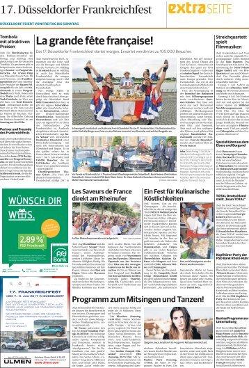 17. Düsseldorfer Frankreichfest