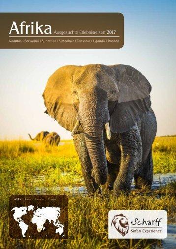 Afrika 2017 - Ausgesuchte Erlebnisreisen