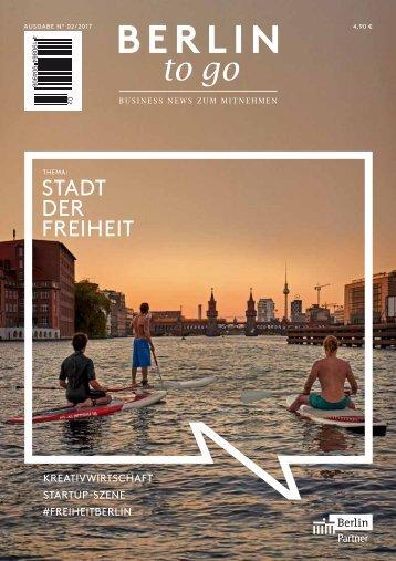 Berlin to go, Ausgabe 2.2017